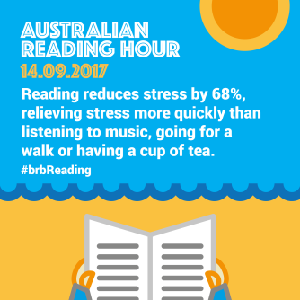 Reading reduces stress by 68%, relieving stress more quickly than listening to music, going for a walk or having a cup of tea.