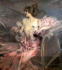 Giovanni Boldini's portrait of Marthe de Florian